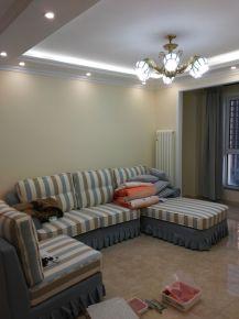 廊坊早安北京13号楼欧式两居室装修效果图