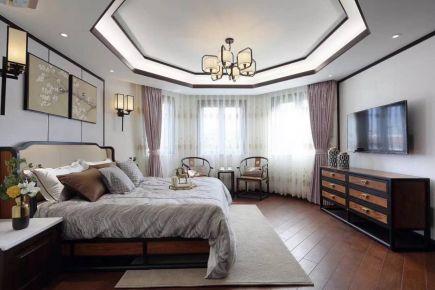 中山中澳滨河湾现代新中式四居室装修图片