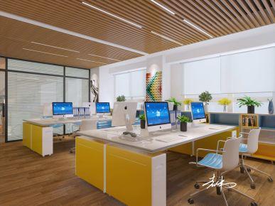 济南影山公馆现代风格办公室装修效果图