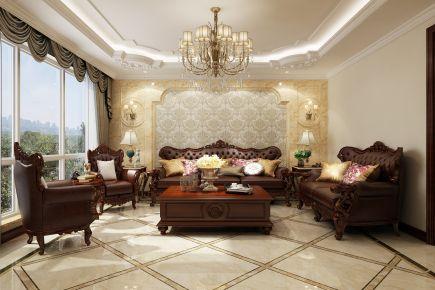 烟台山语世家别墅装修 欧式风格别墅装修设计欣赏