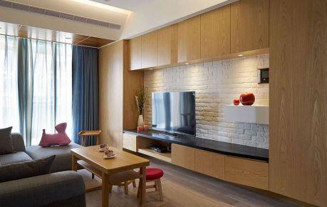 中山雅居乐现代三居室装修案例