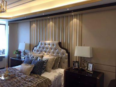 廊坊珠光御景欧式三居室装修效果图