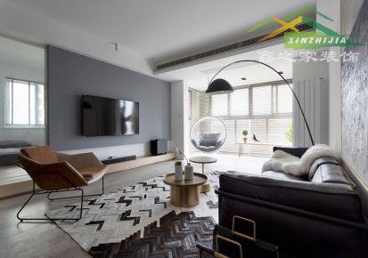 合肥金色梧桐115平米现代风格三室两厅装修案例