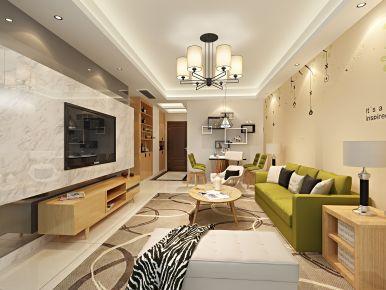 福州保利香槟国际简约三居室装修效果图