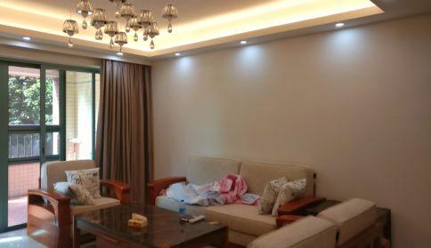 中山圆融装饰中式风格三居室装修案例