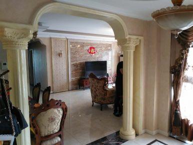 成都西江月欧式风格四居室装修效果图