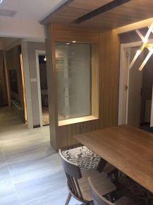 南昌绿地国际博览城现代三居室装修效果图