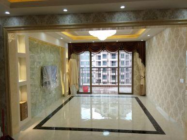 惠州太东时尚岛现代四居室装修效果图