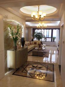 金华新华家园欧式三居室案例