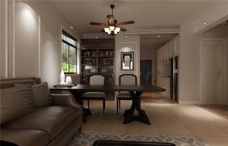 洛阳月明湾美式两居室装修效果图