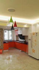 中山塞纳胡现代简约四居室装修案例