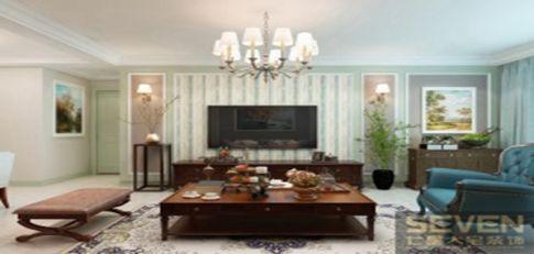 西安隆源国际城现代四居室装修效果图