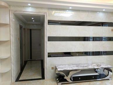 惠州秋谷阳光里简约三居室装修效果图