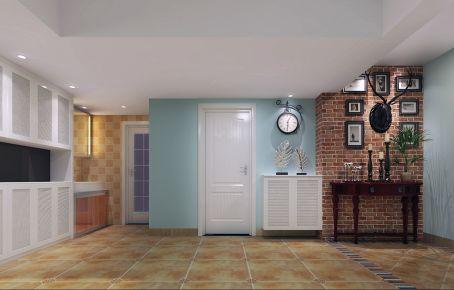 珠海石泉新村田园风格两居室装修效果图