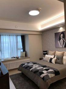 武汉南国明珠现代三居室装修案例