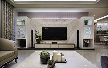 演绎内蕴的华美气质后现代奢华公寓