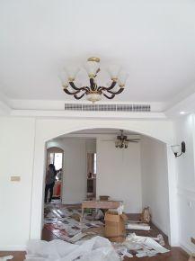 宁波汇豪时代中式风格三居室装修效果图