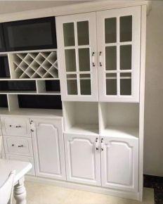 济南翡翠外滩现代三居室装修效果图
