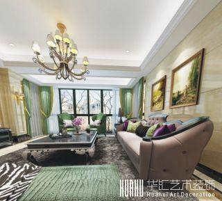 温州洪福锦园复古两居室装修案例