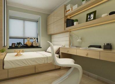 嘉兴万达华府现代风格三居室装修效果图