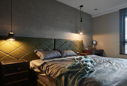 长沙玫瑰府邸简约四居室装修效果图