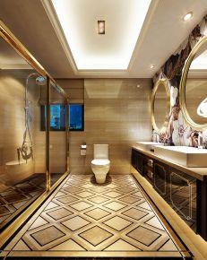 嘉兴英伦都市欧式风格三居室装修效果图