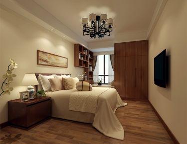 长沙威尔士春天中式风格四居室装修效果图