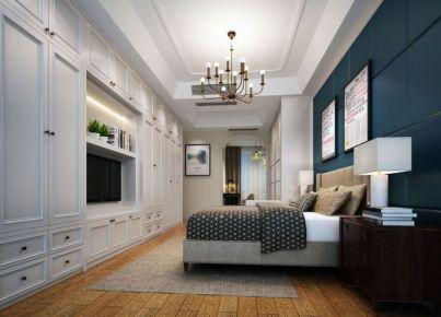 嘉兴英伦都市美式风格别墅装修效果图