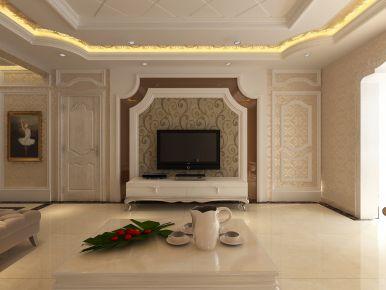 银川鼎级大院简欧风格三居室案例