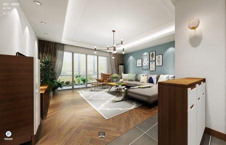 长沙中医附单位房现代四居室装修案例