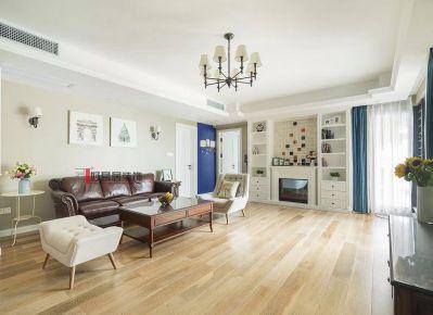 厦门海峡国际美式四居室装修效果图