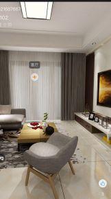 馨园 现代风格三房装修设计效果图欣赏