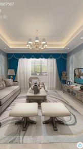馨园 美式风格家庭装修设计欣赏