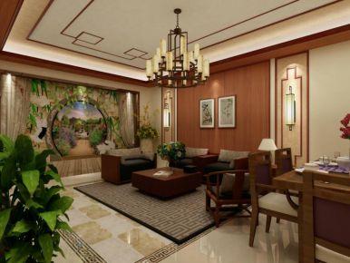 长沙高升时代现代三居室装修效果图