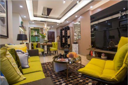 佛山南海富丰城现代简约三居室装修效果图