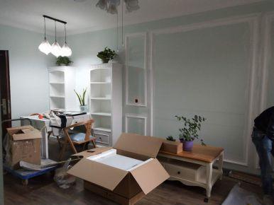 长沙荣盛话语书院欧式风格三居室装修效果图