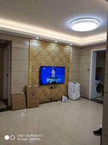 长沙中航城国际社区现代三居室装修案例