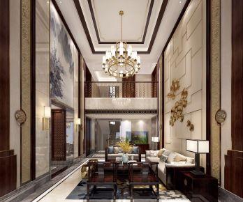 长沙法式风格家庭装修设计 法式风格三房装修效果图