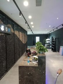 500m²办公室装修效果图 混搭风格办公室装修设计