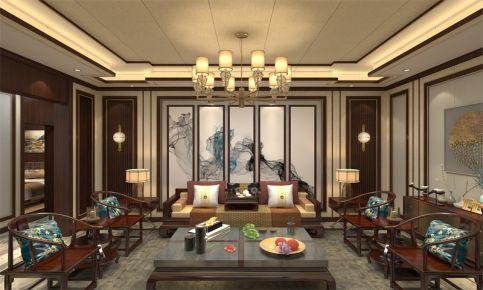 为爱筑巢-古典中式风格两房装修设计效果图