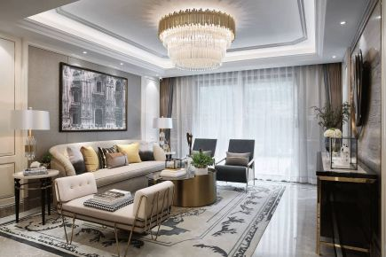 长沙美式风格三房装修设计欣赏 美式风格家庭装修