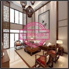 康格斯300平方别墅新中式风格装修效果图