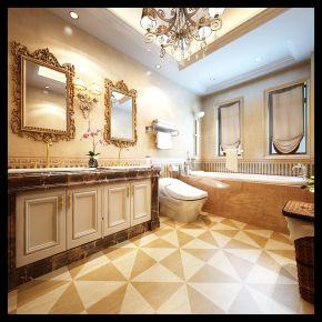 西安欧式奢风别墅装修设计 欧式奢华别墅装修效果图