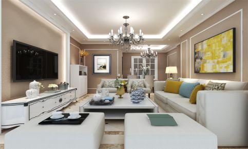 为爱筑巢-简欧风格三房装修设计效果图欣赏