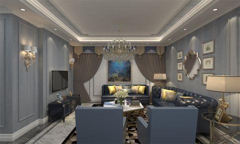 为爱筑巢-现代美式风格两房装修