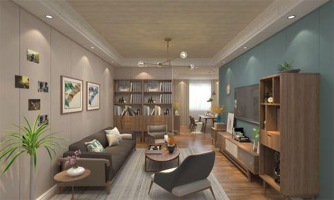 为爱筑巢-北欧风格两房装修设计案例欣赏