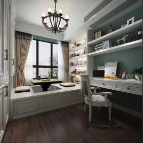 西安美式风格三房装修设计效果图