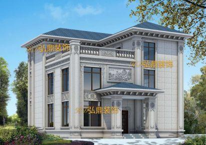 佛山顺德万科兰乔圣菲欧式风格别墅装修案例