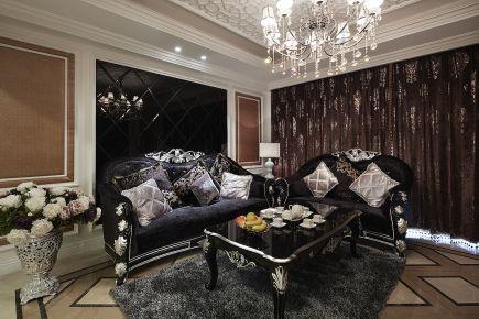 宁波运河丽园复古四居室装修案例