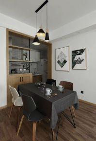 极简北欧风格两居室装修案例